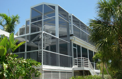 2 Story Screen Enclosures in and near Naples FL