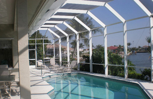 Aluminum Screen Enclosures in and near Ft Myers FL