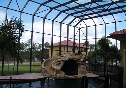 Bronze Screen Enclosures in and near Naples FL