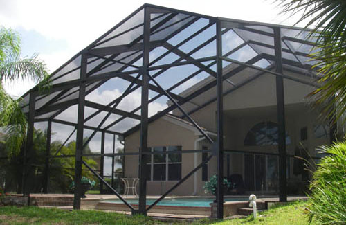 Custom Screen Enclosures in and near Naples FL