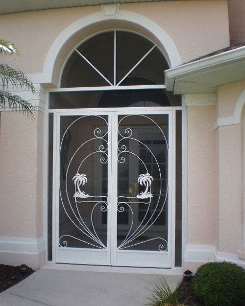 Front Entry Screen Enclosures in and near Naples FL