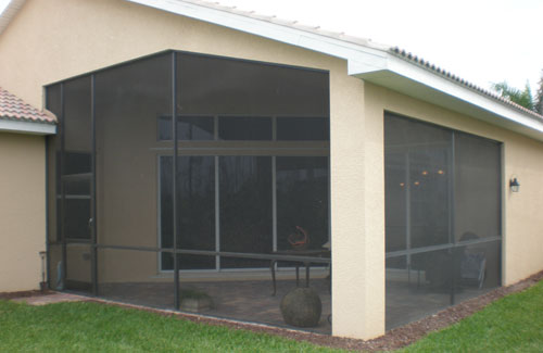 Screen Enclosure Colors in and near Naples FL