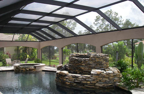 Spa Screen Enclosures in and near Ft Myers FL
