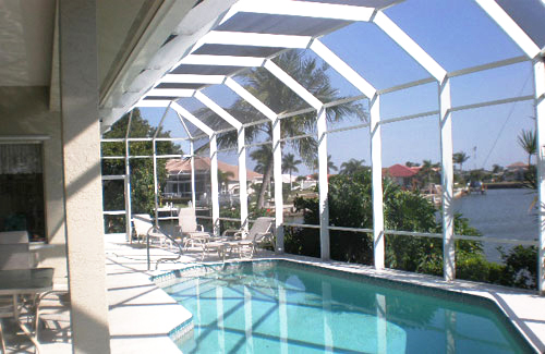 Swimming Pool Screen Enclosers & Screen Enclosures