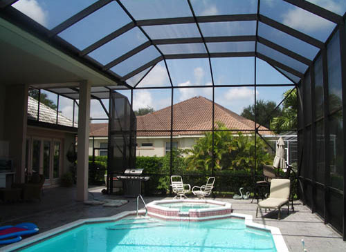 Swimming pool screen enclosures - Swimming pool screen enclosures cost ...